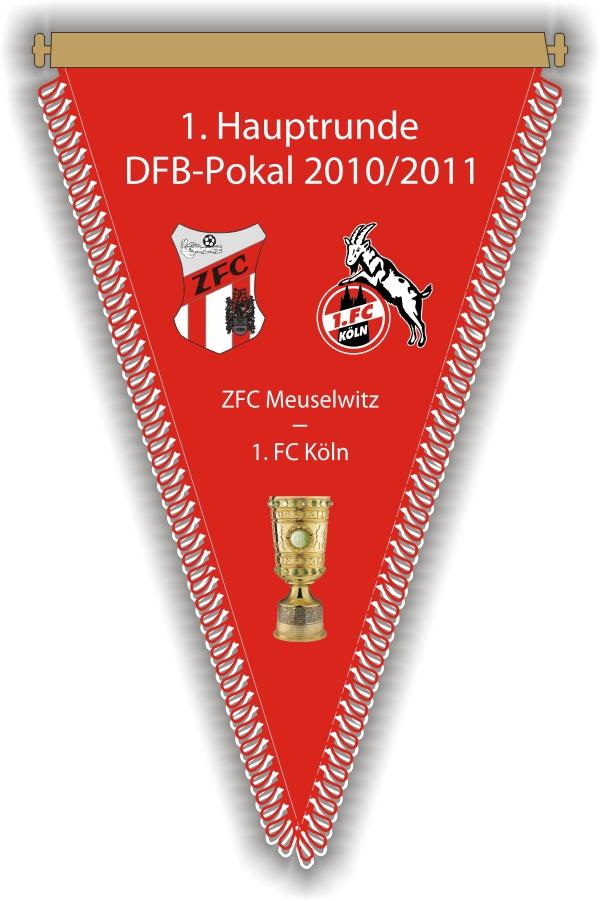 Wimpel - DFB-Pokal 2010/11