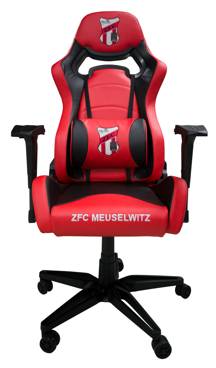 ZFC Gaming Stuhl Schwarz-Rot