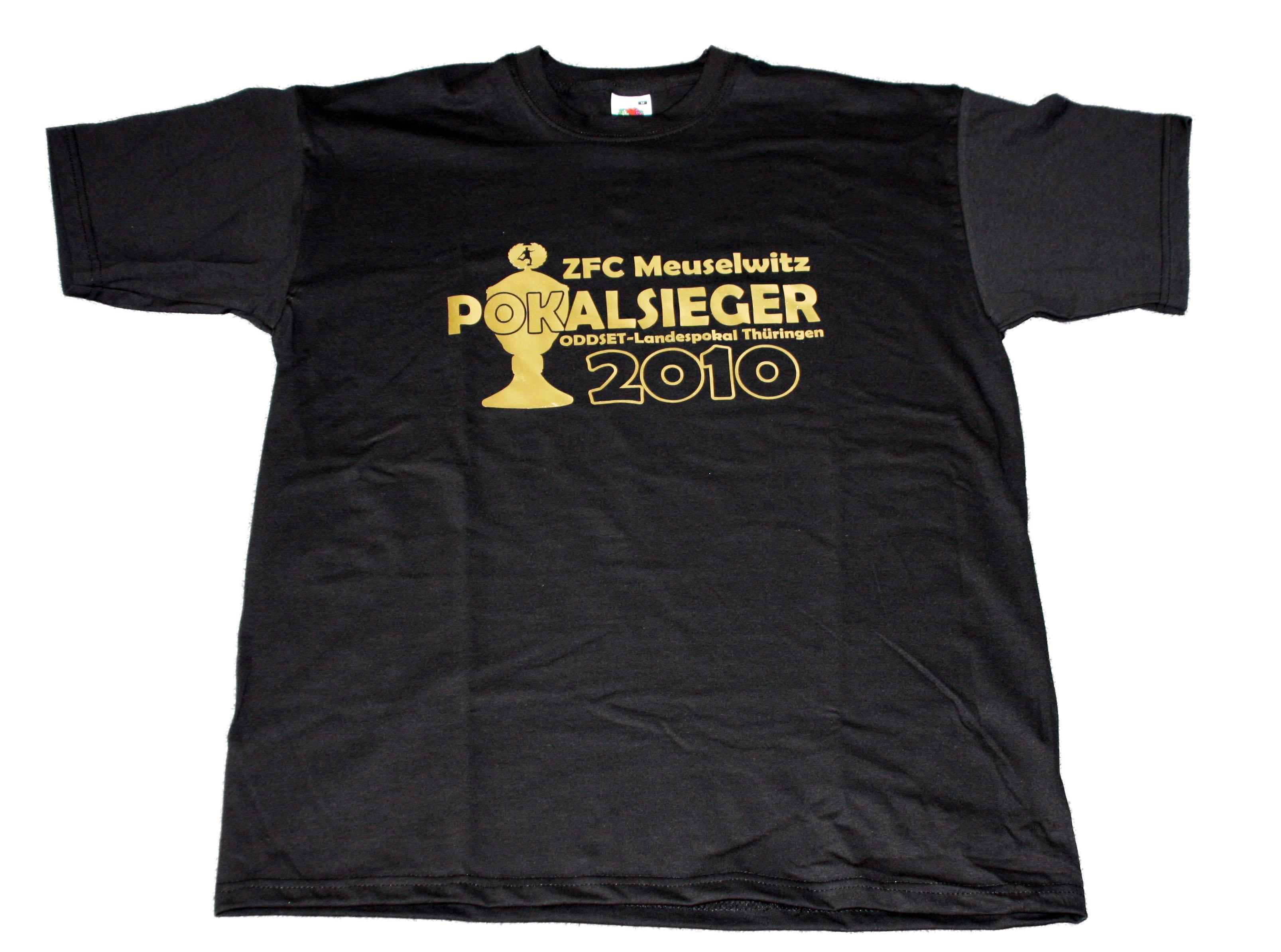 T-Shirt Landespokalsieger 2010