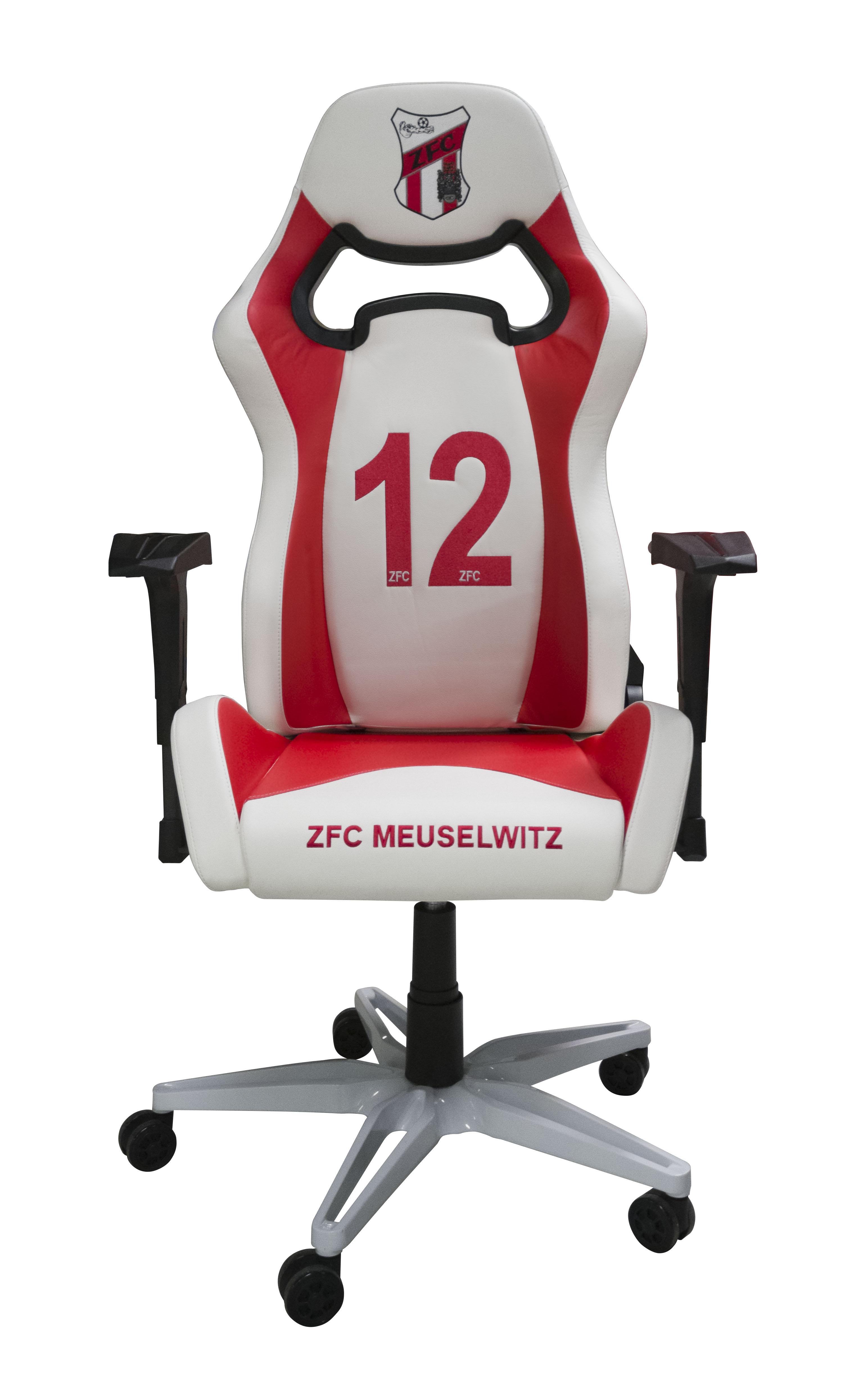 ZFC Gaming Stuhl Rot-Weiß