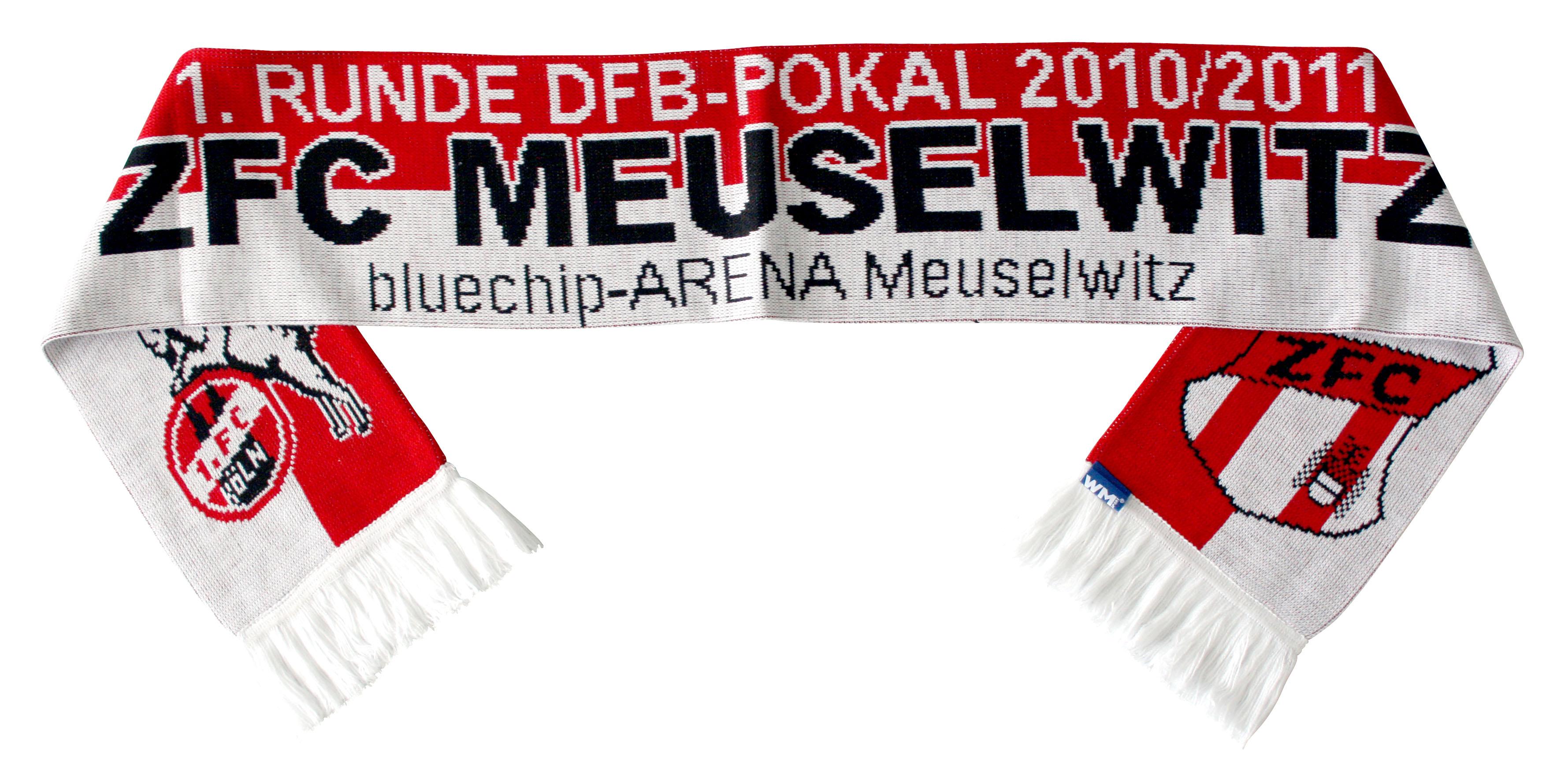 Schal - DFB-Pokal ZFC - 1. FC Köln